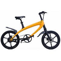 Электровелосипед LEHE S1 (желтый)