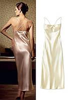 Ночная рубашка женская, Эйвон, размер М (46), цвет бежевый (золотистый), Avon, 31427