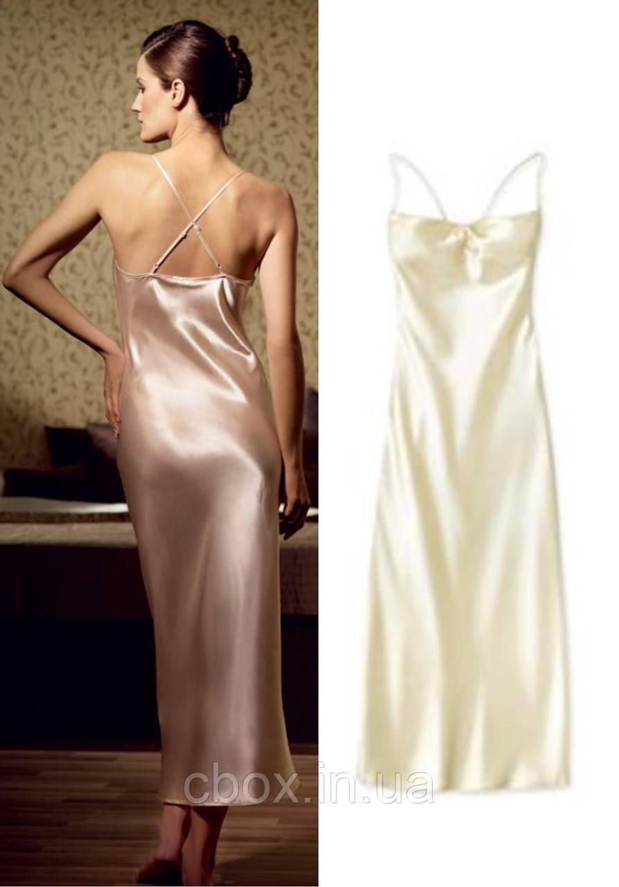 Ночная рубашка женская, Эйвон, размер М (46), цвет бежевый (золотистый), Avon, 31427 - «Cosmetics Box» интернет-магазин в Харькове