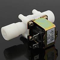 12v электрический электромагнитный клапан магнитный DC N / C переключатель 1/2 воды на входе поток воздуха