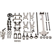 WLtoys модернизированные металлические части комплект цвет серый A949 A959 A969 A979 K929 1/18