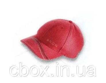 Бейсболка с логотипом, Эйвон, размер регулируется, цвет красный, Avon, 43938