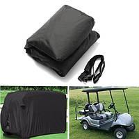 4 пассажира хранения гольфмобиль крышка водонепроницаемый молниями задние вентиляционные отверстия эластичный рубчик размер м