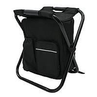 3 в 1 открытый портативного многофункционального складного мешка охладителя стул рюкзак рыболовный стул стула