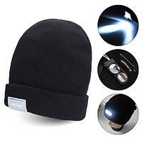 5 LED ярко освещенная крышка зимы теплая шапочку ужение задействуя охоты кемпинг вязаная шапка