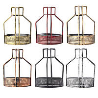 Железо старинных Плафониера колбы лампы чистая нижняя форма клетка бар кафе абажур