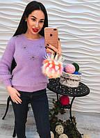 Теплый свитер, ангора премиум класса