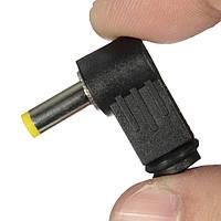 1.7x4.8mm под прямым углом л 90 ° мужской штекер постоянного тока наконечник адаптер питания разъем разъем