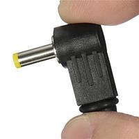 1.7x4.0mm под прямым углом л 90 ° мужской штекер постоянного тока наконечник адаптер питания разъем разъем