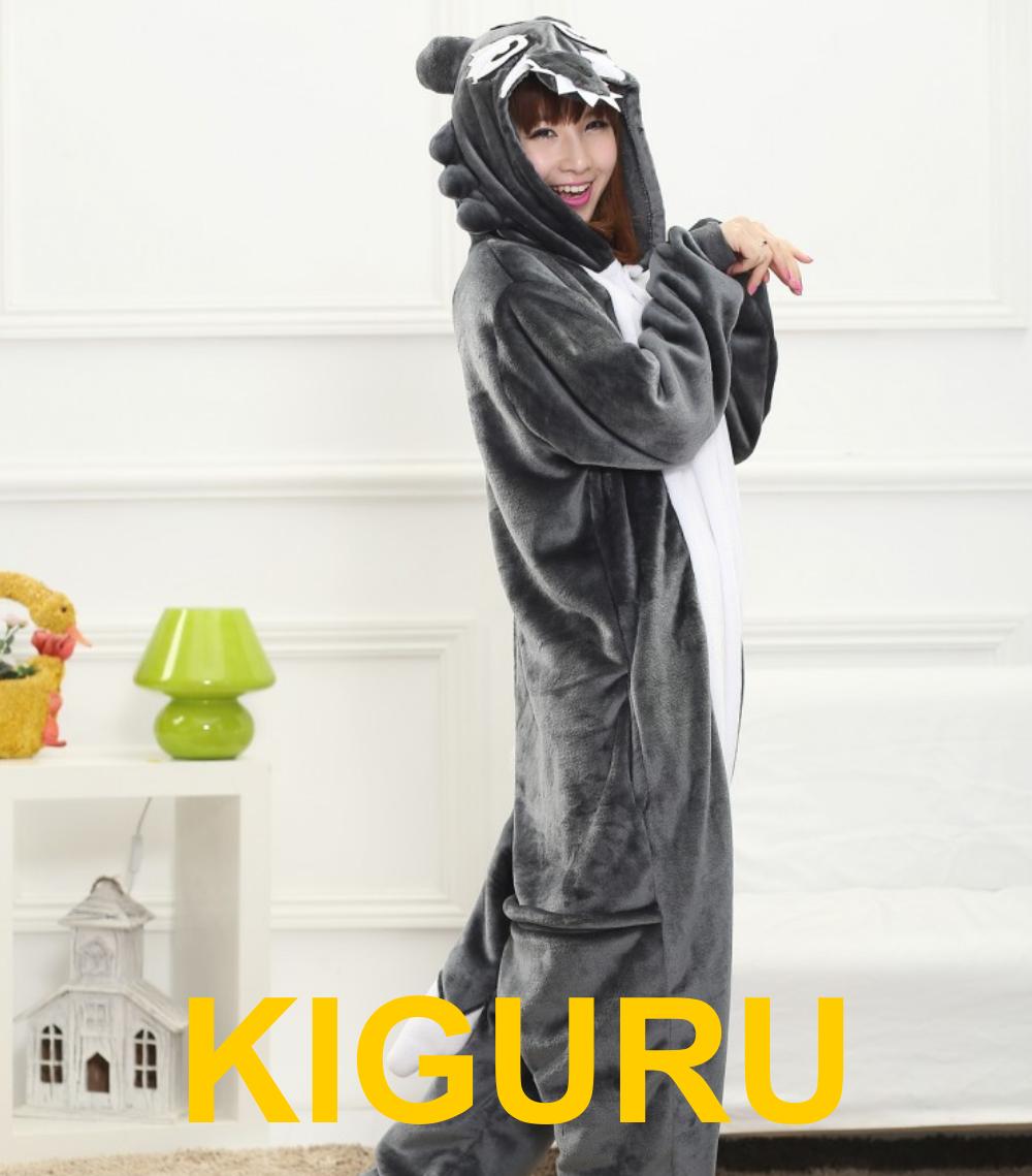 Кигуруми волк пижама