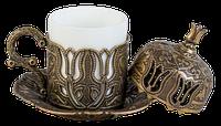 Турецкая кофейная чашка (бронза) для кофе