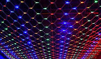 "Гирлянда LED ""Сетка"" 120 LED микс 1,5х1,5 м"