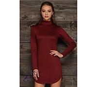 """Платье """"Katrin"""". Распродажа модели бордовый, 48"""