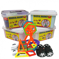 Магнитный конструктор Magical Magnet 72 детали в чемодане
