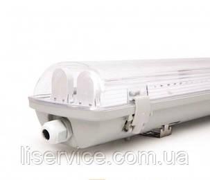 Корпус Евросвет IP65 EVRO-LED-SH-2*10 (2х600мм) SLIM, фото 2