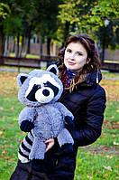 Мягкая игрушка плюшевый Енот ТМ My Best Friend (Украина) серый