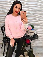 Ангоровый свитер премиум качества