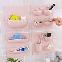 Стены хранения корзины ванной Кухня исследование creative Вешалка держатель многофункциональный ящик Организатор