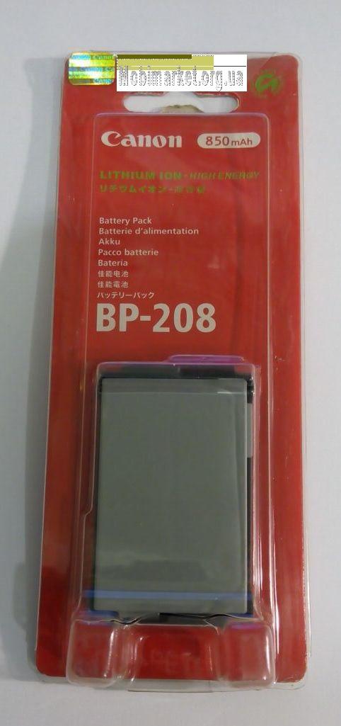 Акумуляторна батарея CANON BP-208