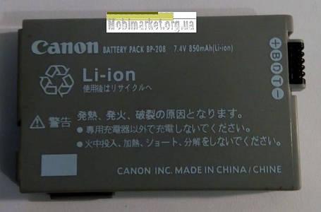 Акумуляторна батарея CANON BP-208, фото 2