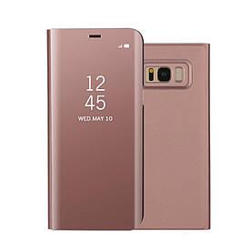 Чохол книжка для Samsung Galaxy S8 Plus G955 бічній ORIGINAL, Smart Cover, золотисто-рожевий