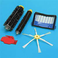 5 штук 6-вооруженная щетка щетиной колотушки щетка с фильтром для IROBOT Roomba 600-й серии вакуумной части