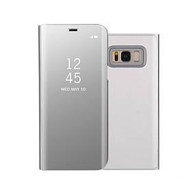 Чохол книжка для Samsung Galaxy S8 Plus G955 бічній ORIGINAL, Smart Cover, сріблястий