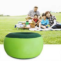 Портативный надувное кресло открытый плюшевых пневматический стул мешок фасоли круглой формы мебели для дома