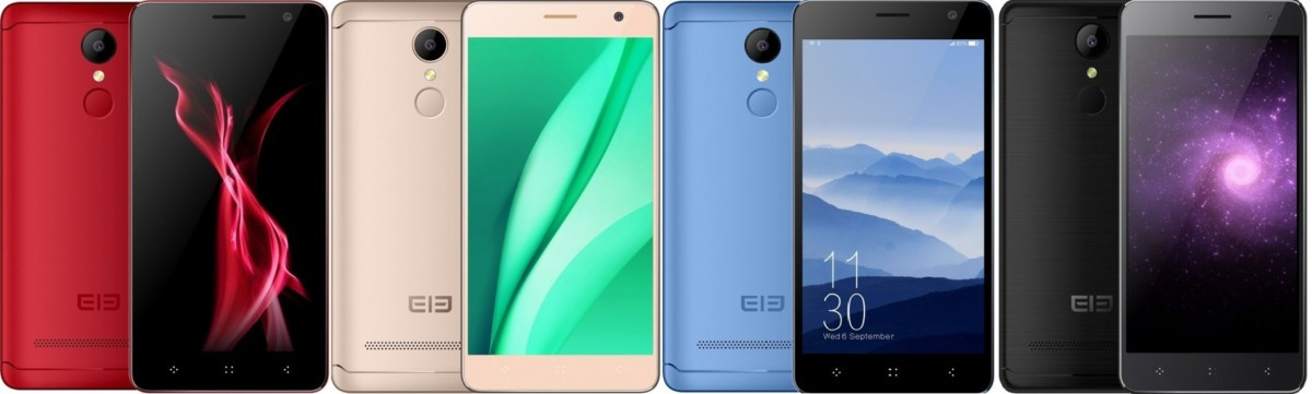 "Смартфон Elephone A8, 2sim, 8/2Мп, 4 ядра, экран 5"" IPS, 1800mAh, 1/8Gb, GPS, 3G, Android 7.0"