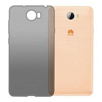 Чехол GlobalCase (TPU) Extra Slim для Huawei Y5 II (Dark) (1283126472695)