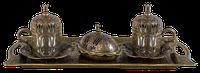Турецкий кофейный набор (бронза)