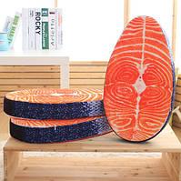 Болотистый 3d еды лосося прослойками свинины подушка плюшевый диван-кровать автомобиль подушки подарок на день рождения трюк игрушки