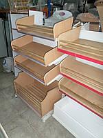 Стеллажи для хлеба бу, хлебные стеллажи 1,м.,1,20 м. б.у. купить стеллаж б/у, фото 1