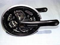 Шатуны Shimano Deore FC-T551 c защитой без каретки