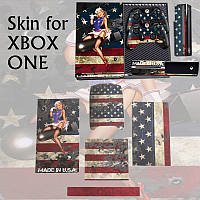 Дизайнер кожи для Xbox ONE игровой консоли +2 контроллер стикер переводная картинка WW2 бомбардировщик
