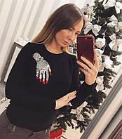 """Стильный женский свитер """"Бриллиантовая рука"""""""