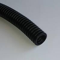 16мм УФ устойчивая гибкая гофрированная труба МОНОФЛЕКС 1416ED черная