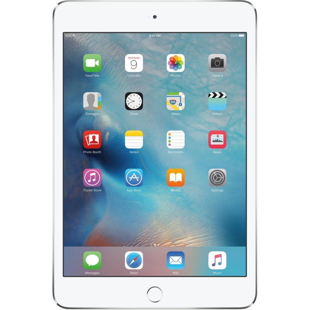 Планшет Apple A1538 iPad mini 4 Wi-Fi 128Gb Silver (MK9P2RK/A)