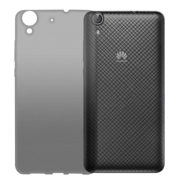 Чехол GlobalCase (TPU) Extra Slim для Huawei Y6 II (Dark) (1283126473333)