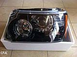 Передние фары на Range Rover Sport с 2009-2013 года, фото 8