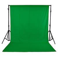 1.6x3m 5x10ft зеленый нетканое фотостудия фон