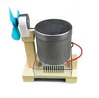 Термоэлектрические горячей воды вентилятор обучающий эксперимент инструмент малыша поделок детей физико оборудование Образование