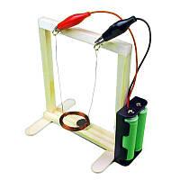 Электромагнитный маятник качаться обучающий эксперимент инструмент малыша поделок детей физико оборудования образования