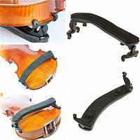 Мягкая скрипка плечо остальные регулируемые черный поддержка для скрипки 1/2 2/4