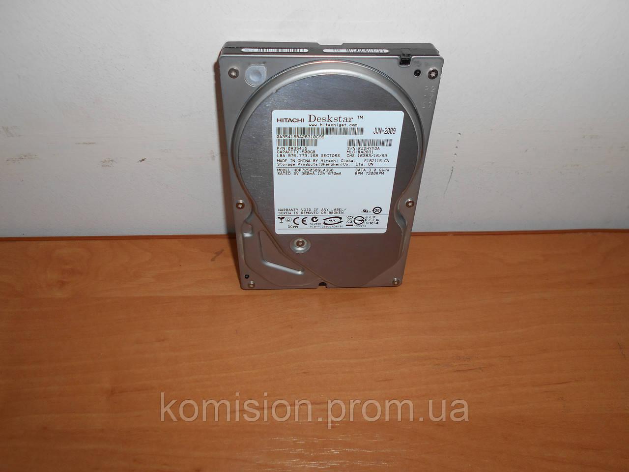 "Жесткий диск 3,5"" Hitachi 500 Gb SATA"