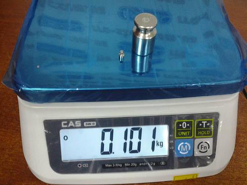 Весы фасовочные CAS SWN (3 кг, 6 кг, 15 кг, 30 кг)