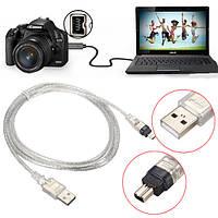 1.5м / 5ft USB 2.0 мужчина к 4-контактный кабель IEEE 1394 FireWire ведущий адаптер конвертер