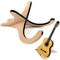 Деревянный складной стенд держатель для скрипки гитары укулеле банджо мандолины