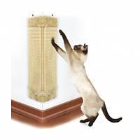 Когтеточка угловая 23х49 см для котов и кошек