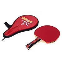 Длинная ручка встряска рук настольный теннис ракетка водонепроницаемая сумка сумка красный крытый настольный теннис аксессуары